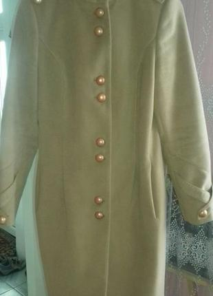 Пальто новесеньке,кашемірове
