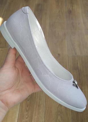 Кожаные балетки туфли fabio gutti последние размеры