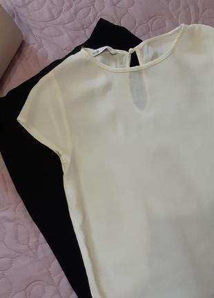 Кремовая блуза, офисная блузка, офисный look