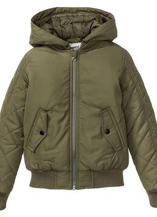 Стеганая куртка-бомбер pepperts р.128-134