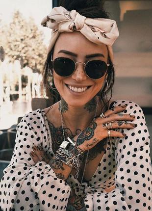 Солнцезащитные очки - уф защита - черные в золоте реальные фотографии!!9 фото