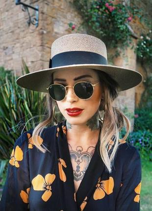 Солнцезащитные очки - уф защита - черные в золоте реальные фотографии!!10 фото