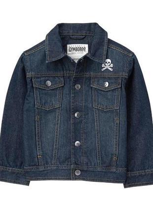 Новый джинсовый пиджак gymboree