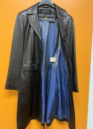 Плащ пиджак натуральная кожа