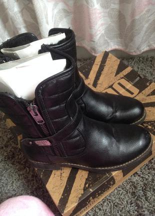 Ботинки keddo на зиму