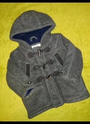 Теплая куртка, куртка 12-18 мес.