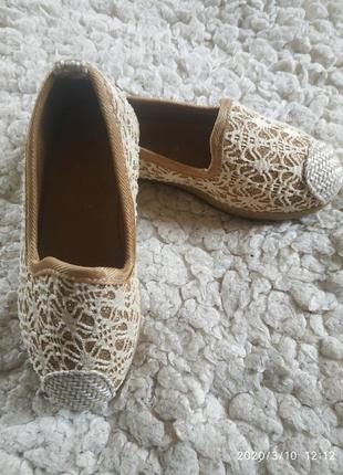 Туфли -балетки