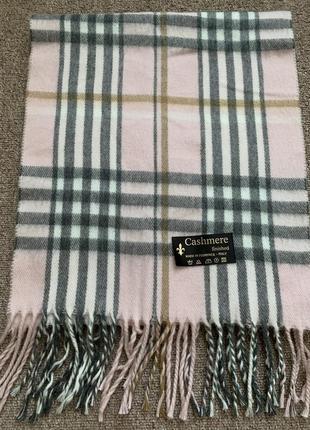 Шерстяной шарф cashmere