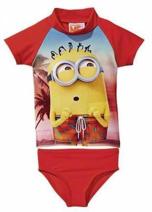 Солнцезащитный пляжный костюм для мальчика р.110/116