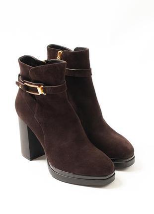 Tod's женские замшевые ботинки