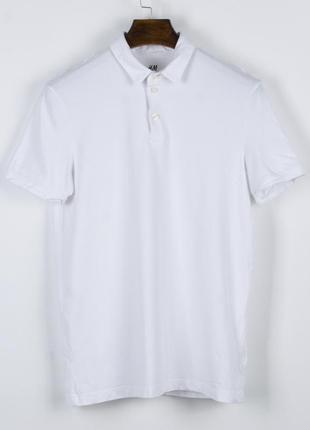 Базовая футболка-поло, белая футболка поло женская, оверсайз футболка однотонная