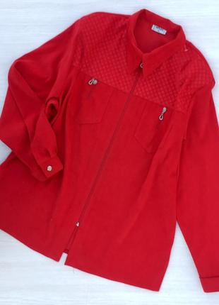 Стильная рубашка на молнии,блузон,пиджак