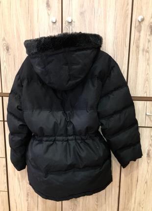 Шикарный стильный актуальный объемный тёплый пуховик куртка пух перо next