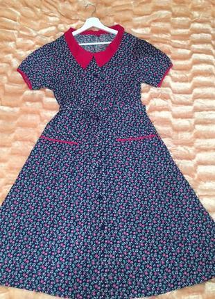 Котоновое платье новое натуральный хлопок
