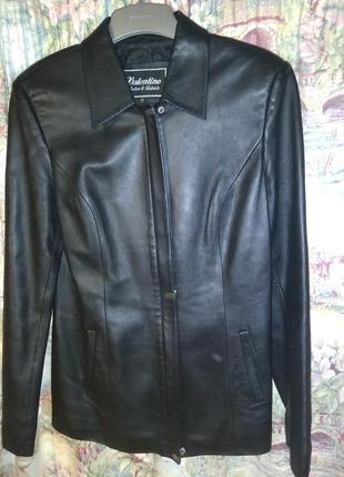 Куртка пиджак кожанный