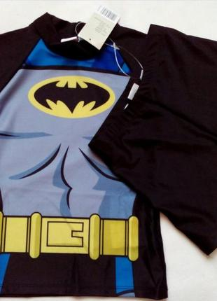 Солнцезащитный пляжный костюм для мальчика batman р.110/116