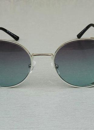Jimmy choo очки женские солнцезащитные круглые серо фиолетовые