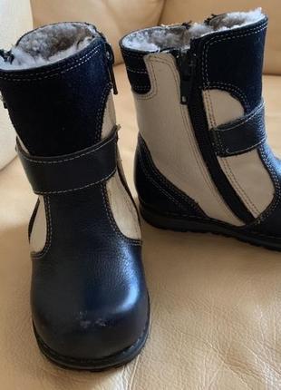 Зимние ботинки, размер 21, стелька - 14,5 см
