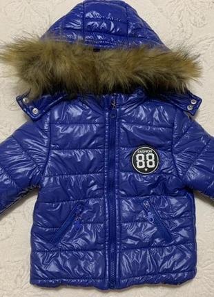 Зимняя курточка, рост 80