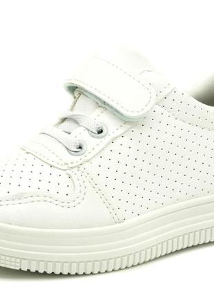 Кроссовки для детей белый размеры: 31-35