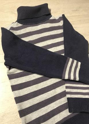 Тёплый свитер с горлом💙