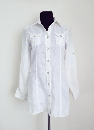 Рубашка,туника 💯%лен