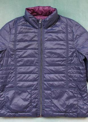 Charles vogele realdown куртка пуховая двухсторонняя