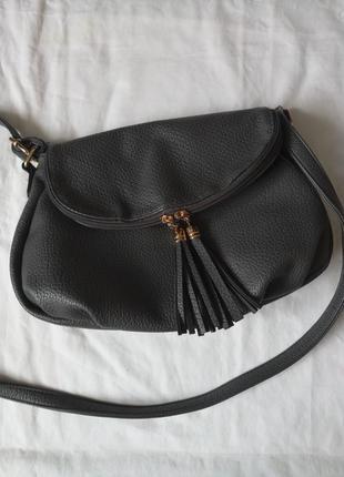 Модная серая сумка