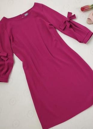 Плаття з бантиками на рукавах