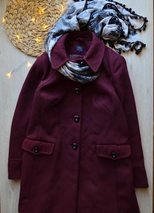 Кашемировое пальто весеннее деми m&s, l , xl