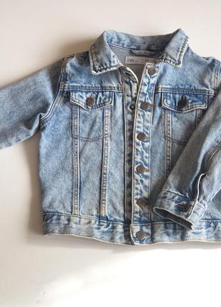 Джинсовая куртка zara
