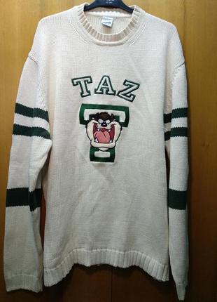 Кофта свитер реглан свитшот taz