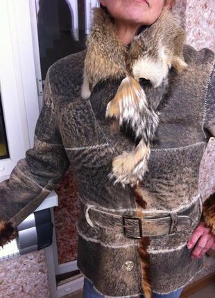 Куртка-дубленка на овчине