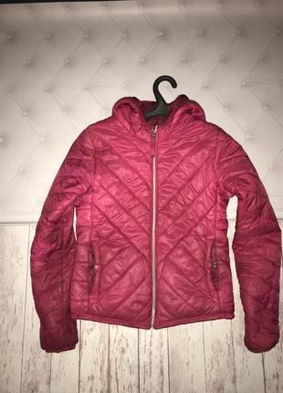 Куртка розовая функция
