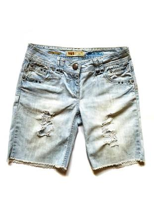 Джинсовые шорты yes yes, s #розвантажуюсь