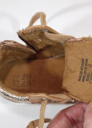 Стильні кросівки хайтопи zara іспанія8 фото