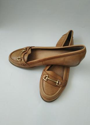 Женские балетки, женские кожаные туфли, кожаные туфли без каблука