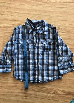 Рубашка george 1,5-2
