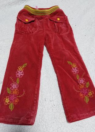 Велеветовые штаны на девочку