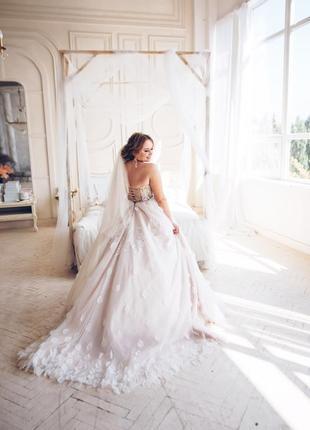 Свадебное платье в американском стиле