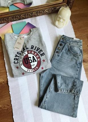 Джинси slouchy джинсы слоучи zara