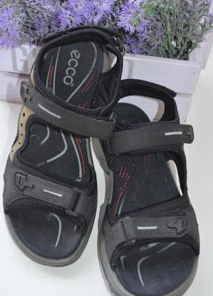 Кожаные сандали ecco р. 39 по стельке 25,5 см