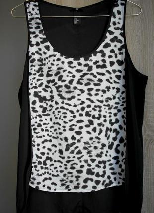 H&m майка блуза 38