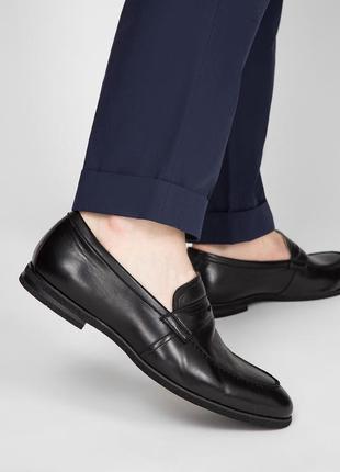 Новые туфли лоферы 43-43.5р. в стиле gucci