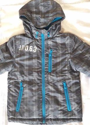 Деми куртка для мальчика 4 года