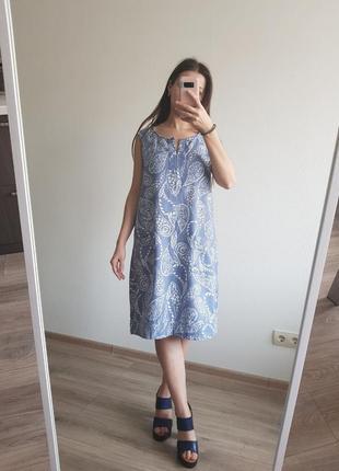 Красивое платье прямого кроя от next