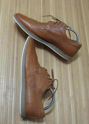 Туфли - броги (кожа) asos