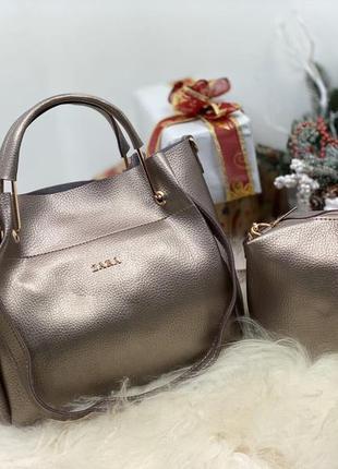 Женская сумка экокожа комплект (арт.л204)