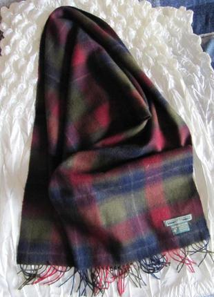 Шарф дорого бренда класса люкс кашемир holland & holland london шотландия