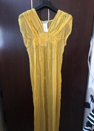Шелковое платье max&co